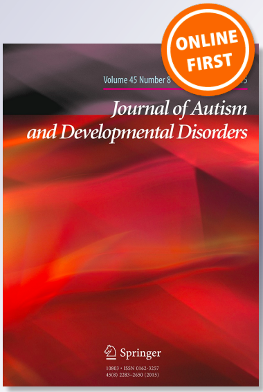 Journal of Autism and Developmental Disorders Online