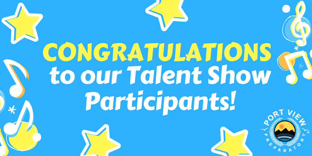Congratulations Talent Show