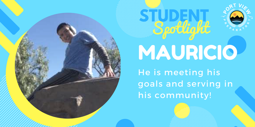 Student Spotlight March 2018 Mauricio
